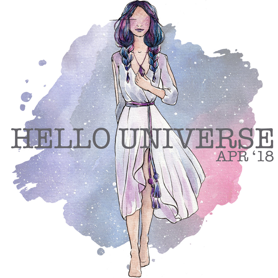 Hello Universe - Past Kit </br> (April 2018)