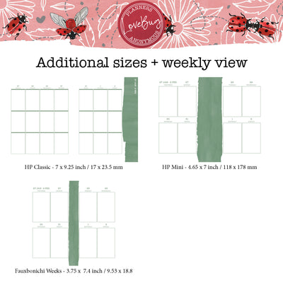 Love Bug Printable Inserts