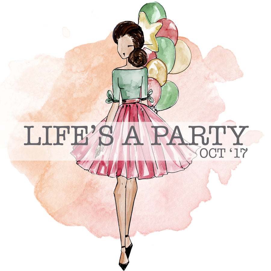 Life's a Party - Past Kit </br> (October 2017)