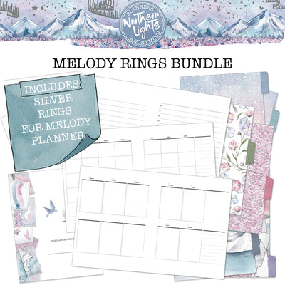 Northern Lights Melody Rings Bundle