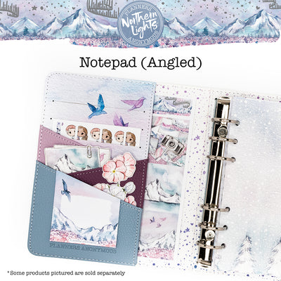 Northern Lights Notepad (Angled)