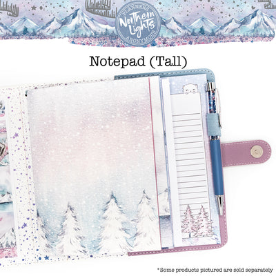 Northern Lights Notepad (Tall)