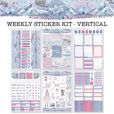 Northern Lights - Weekly Sticker Kit