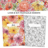 Pretty Posy Printable Inserts