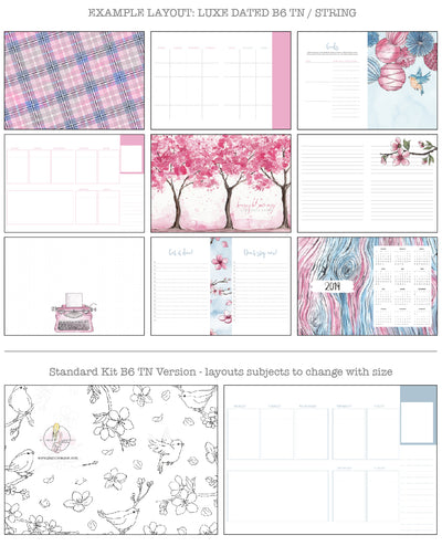 Blossom Printable Inserts