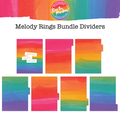 Over the Rainbow Melody Rings Bundle