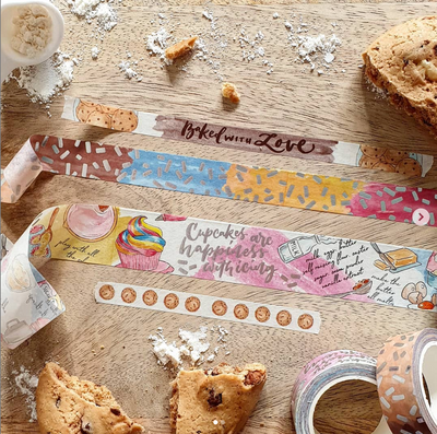 Baked with Love 25mm Washi Tape