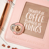 Barista Brunch magnet pin