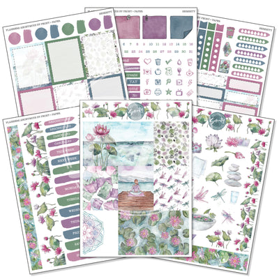 Serenity - Weekly Sticker Kit