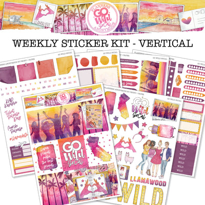 Go Wild SoCal - Weekly Sticker Kit