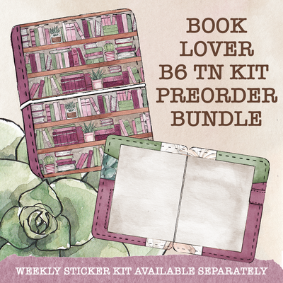 BookLover B6 Traveler's Notebook Kit