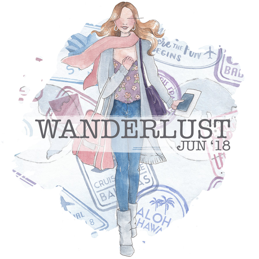 Wanderlust - Past Kit </br> (Jun 2018)