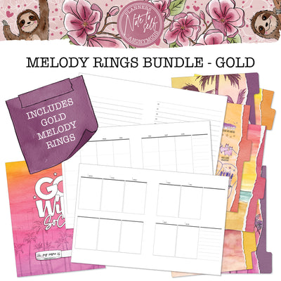 Go Wild SoCal Melody Rings Bundle