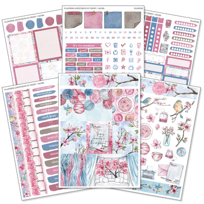Blossom - Weekly Sticker Kit