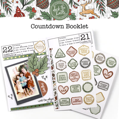 Deck The Halls Countdown Booklet