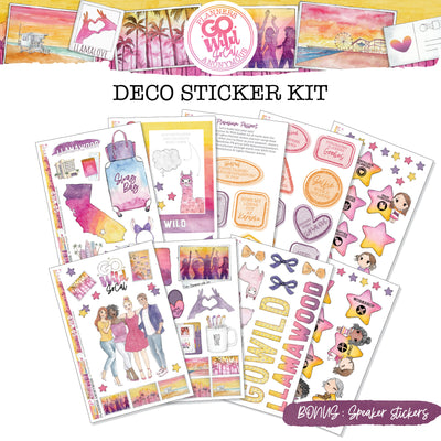 Go Wild SoCal Deco sticker kit