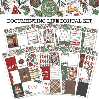 Deck the Halls Documenting Life in Colour Printable