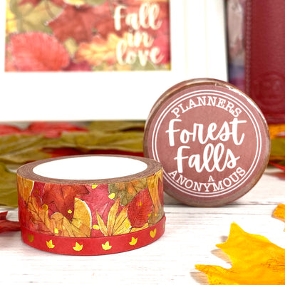 Forest Falls Washi Duo - Falling Leaves