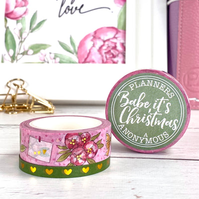 Babe It's Christmas Washi Duo - Planning Gifts