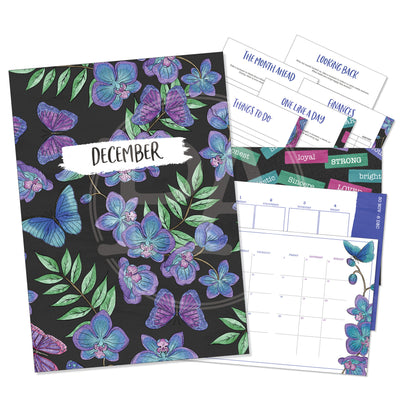 Butterfly Skies - Printable Inserts - Luxe Weekly