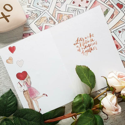 All Loved Up! Luxe Greeting Card