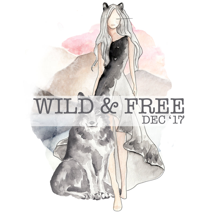 Wild and Free - Past Kit </br> (December 2017)