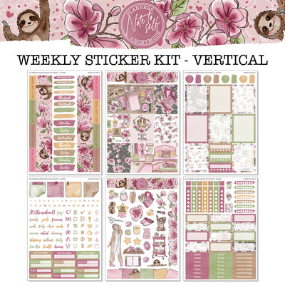 Note to Self - Weekly Sticker Kit