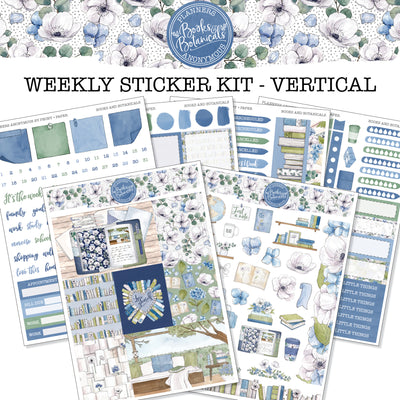 Books and Botanicals - Weekly Sticker Kit
