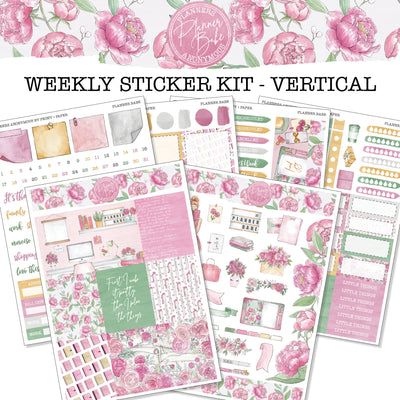 Planner Babe - Weekly Sticker Kit