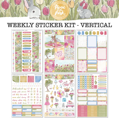Picnic at the Park - Weekly Sticker Kit
