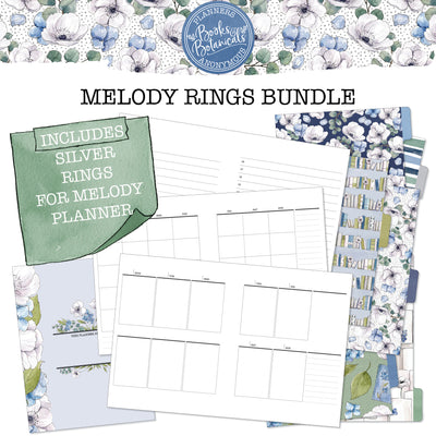 Books and Botanicals Melody Rings Bundle
