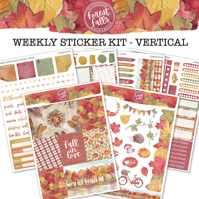 Forest Falls - Weekly Sticker Kit