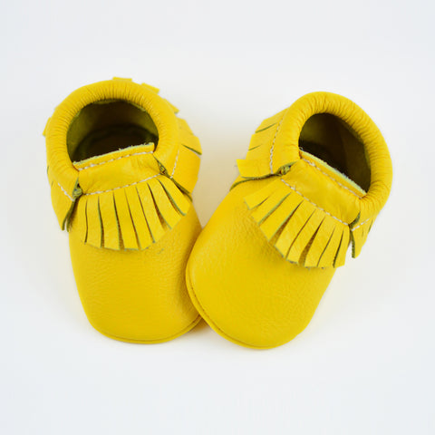 RTS Yellow Moccasins
