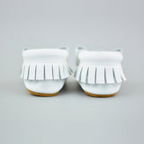 Snow White Bow Moccs