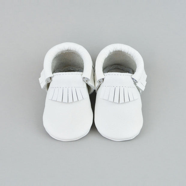 Snow White Moccasins