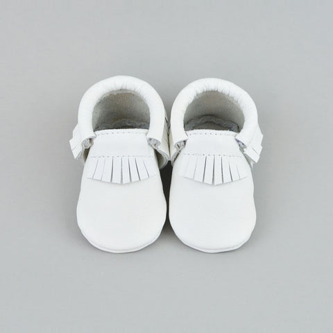 RTS Snow White Moccasins