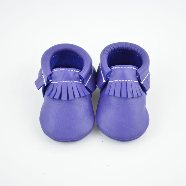 Wicked Purple Moccasins