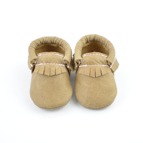 RTS Weathered Brown Moccasins
