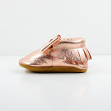 Rose Gold Bow Moccs