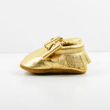 Gold Metal Bow Moccs