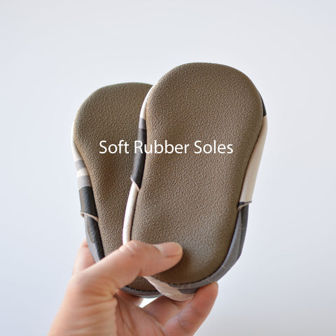 Brown Soft Rubber sole add-on