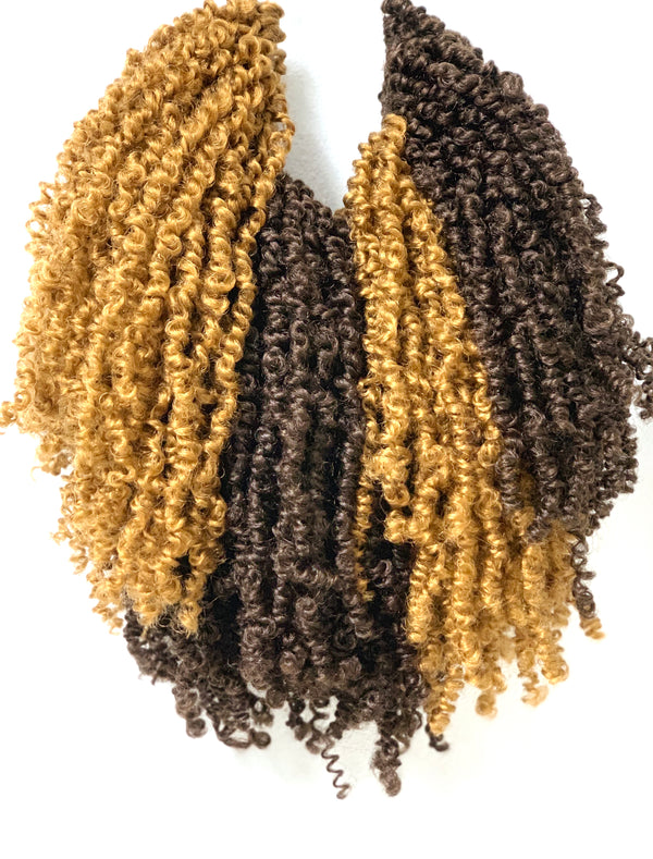 Handmade Crochet Island Twists - The Curl Refinery