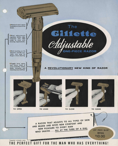 Gillette-Toggle-A-History