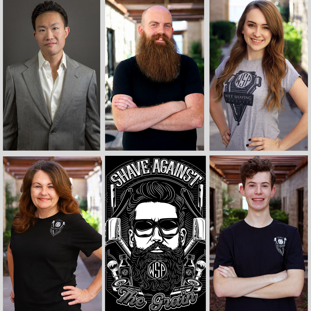 Wet shaving products team photo