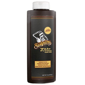 Suavecito Talcum Powder with Aloe Vera, 9oz