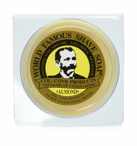 Col. Ichabod Conk Almond Shave Soap 2.25 Oz