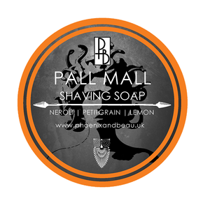 Phoenix and Beau Shave Soap -Pall Mall -  Imported From the  U.K.
