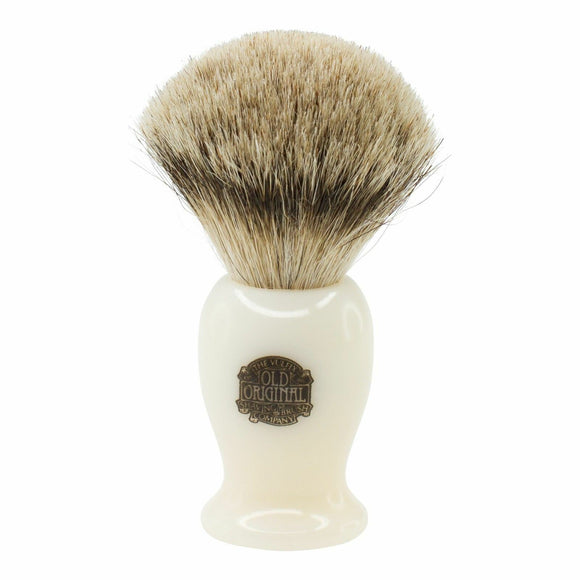 Progress Vulfix Super Badger Shaving Brush Medium Cream Handle, Imported
