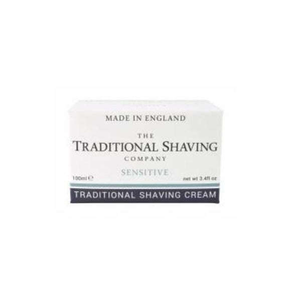 The Traditional Shaving Company, Sensitive Skin  Shaving Cream, 100ml, Imported
