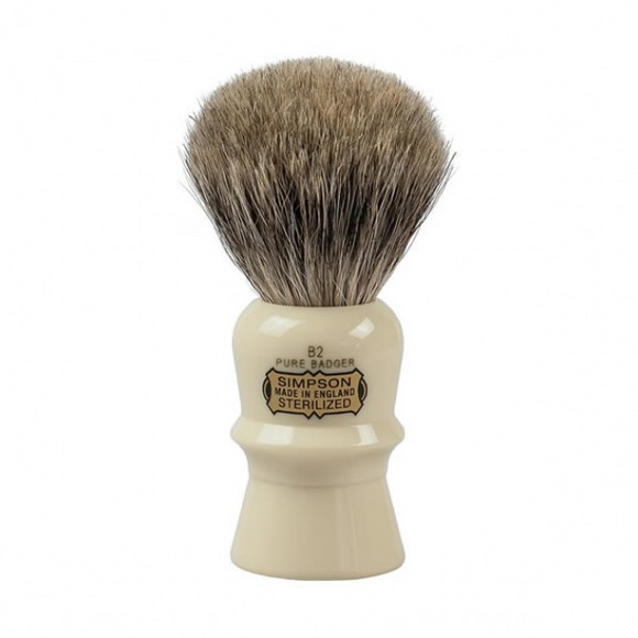 Simpsons Beaufort B2 Pure Badger Shaving Brush